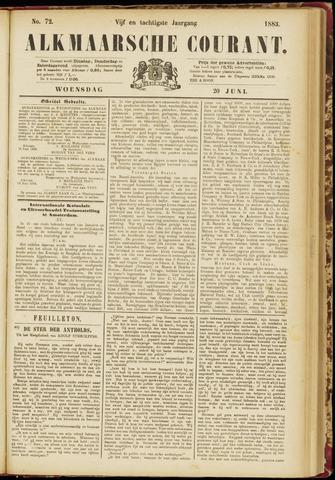 Alkmaarsche Courant 1883-06-20