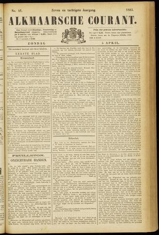 Alkmaarsche Courant 1885-04-05