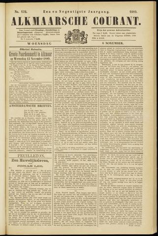 Alkmaarsche Courant 1889-11-06