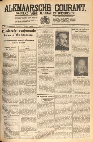 Alkmaarsche Courant 1939-07-24