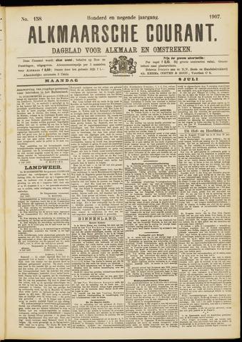 Alkmaarsche Courant 1907-07-08