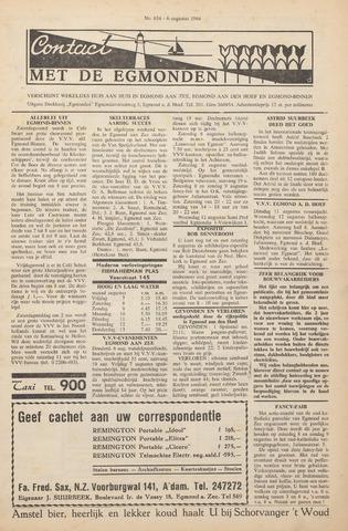 Contact met de Egmonden 1964-08-06