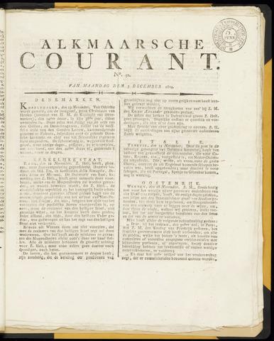Alkmaarsche Courant 1814-12-05