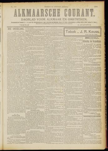 Alkmaarsche Courant 1916-08-04