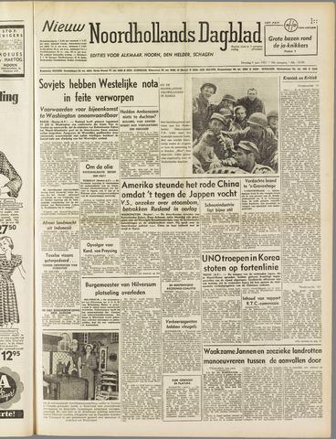 Nieuw Noordhollandsch Dagblad : voor Alkmaar en omgeving 1951-06-05