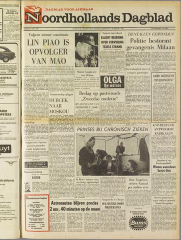Noordhollands Dagblad : dagblad voor Alkmaar en omgeving 1969-04-15