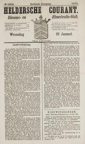 Heldersche Courant 1873-01-22