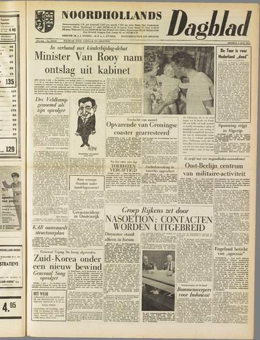 Noordhollands Dagblad : dagblad voor Alkmaar en omgeving 1961-07-04