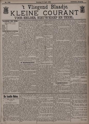 Vliegend blaadje : nieuws- en advertentiebode voor Den Helder 1890-04-19