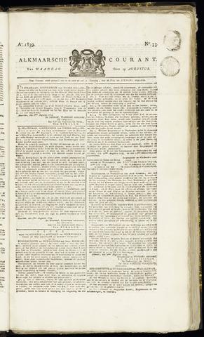 Alkmaarsche Courant 1839-08-19