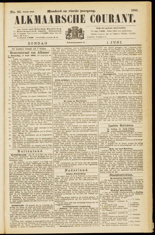 Alkmaarsche Courant 1902-06-01
