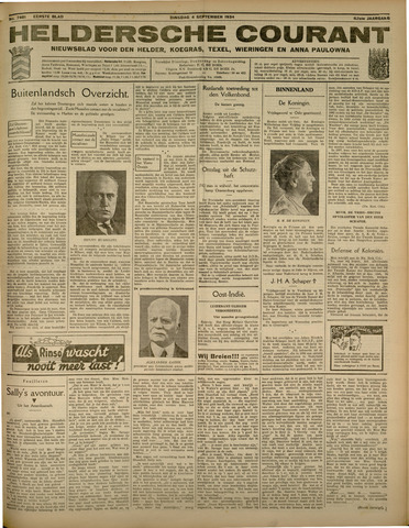 Heldersche Courant 1934-09-04