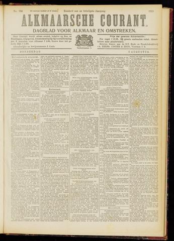 Alkmaarsche Courant 1919-08-07
