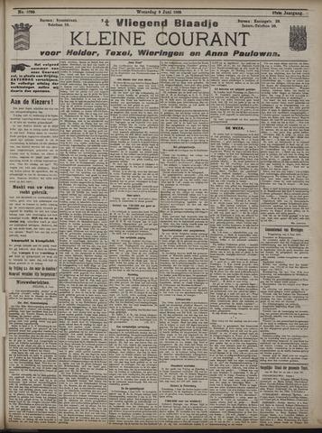 Vliegend blaadje : nieuws- en advertentiebode voor Den Helder 1909-06-09