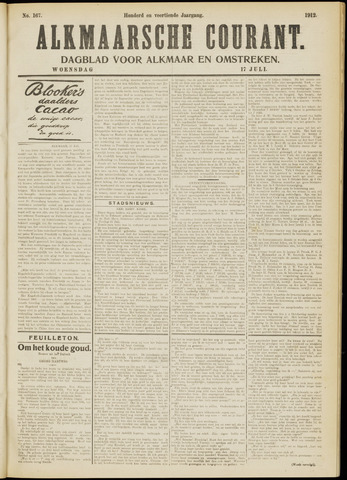 Alkmaarsche Courant 1912-07-17