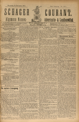 Schager Courant 1911-11-22