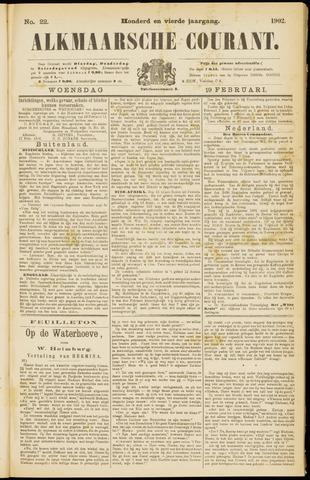 Alkmaarsche Courant 1902-02-19