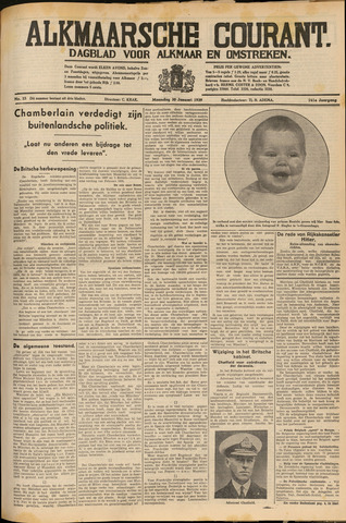 Alkmaarsche Courant 1939-01-30