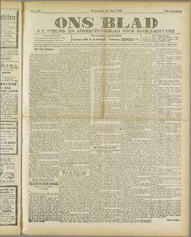 Ons Blad : katholiek nieuwsblad voor N-H 1920-05-26