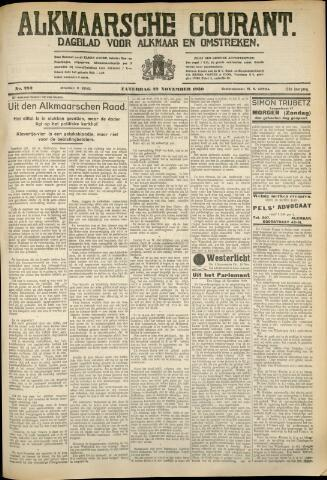 Alkmaarsche Courant 1930-11-29