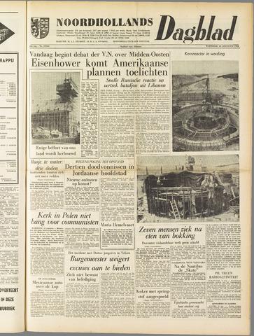Noordhollands Dagblad : dagblad voor Alkmaar en omgeving 1958-08-13