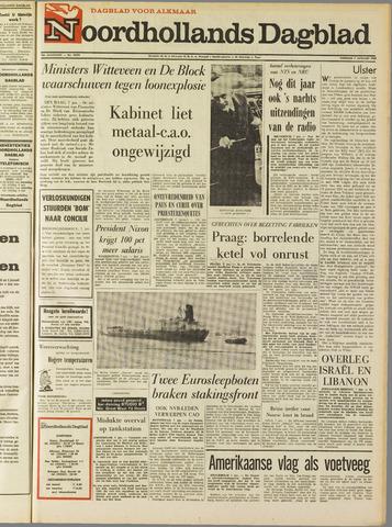 Noordhollands Dagblad : dagblad voor Alkmaar en omgeving 1969-01-07