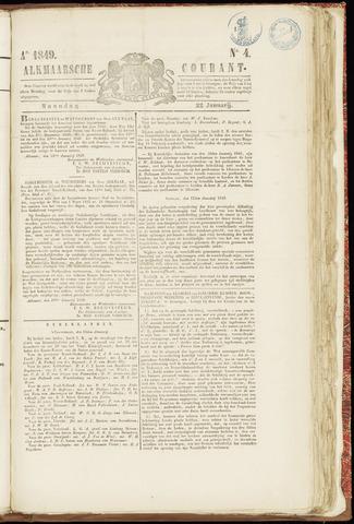 Alkmaarsche Courant 1849-01-22