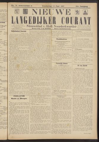 Nieuwe Langedijker Courant 1927-06-30