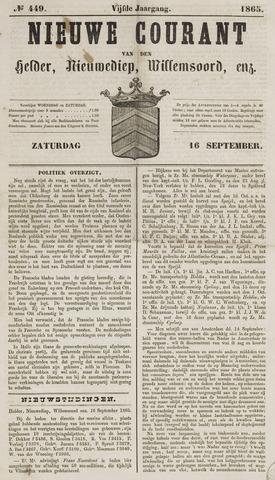 Nieuwe Courant van Den Helder 1865-09-16