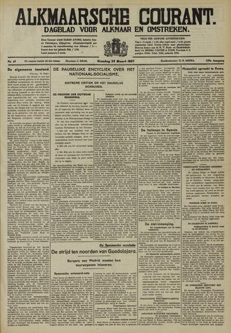Alkmaarsche Courant 1937-03-23
