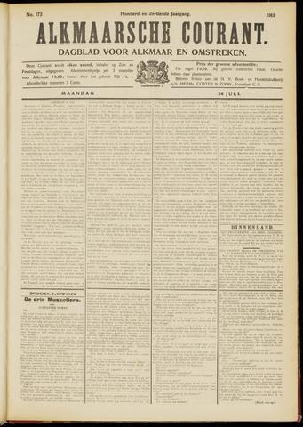Alkmaarsche Courant 1911-07-24