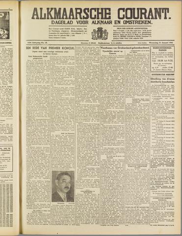 Alkmaarsche Courant 1941-01-22