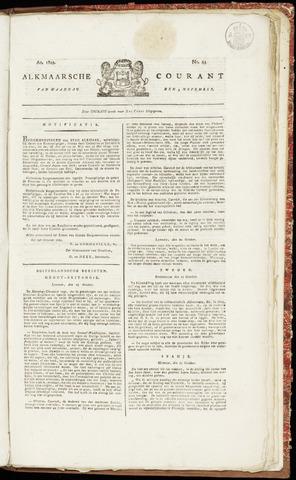 Alkmaarsche Courant 1822-11-04