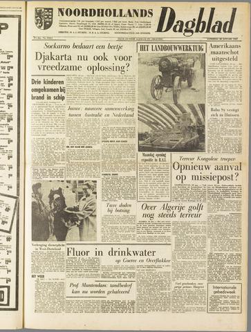 Noordhollands Dagblad : dagblad voor Alkmaar en omgeving 1962-01-20