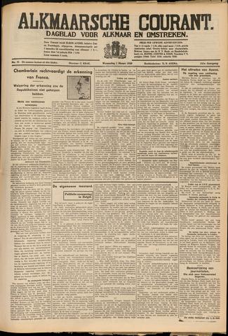 Alkmaarsche Courant 1939-03-01