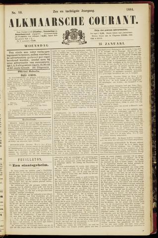 Alkmaarsche Courant 1884-01-23