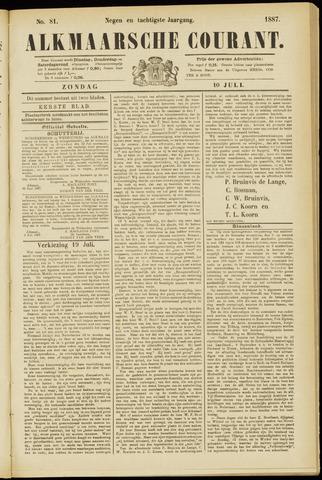 Alkmaarsche Courant 1887-07-10