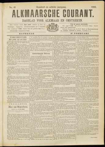 Alkmaarsche Courant 1906-02-17