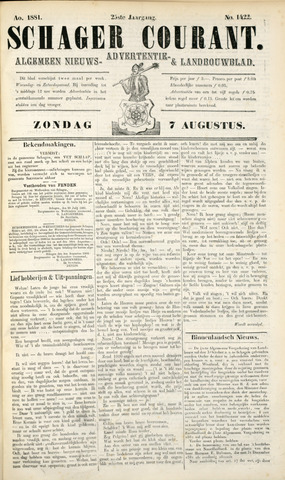 Schager Courant 1881-08-07