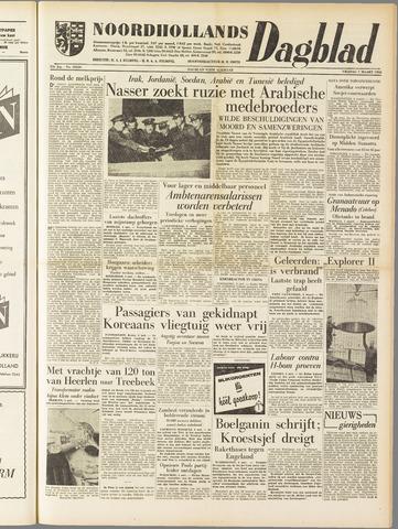 Noordhollands Dagblad : dagblad voor Alkmaar en omgeving 1958-03-07