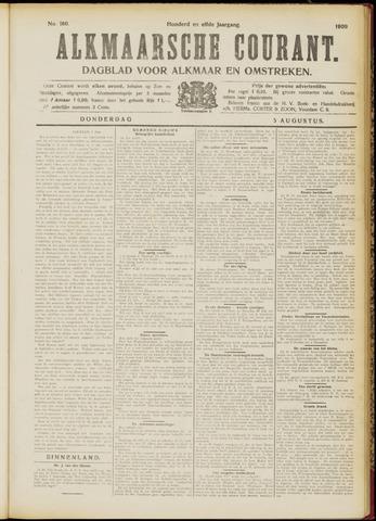 Alkmaarsche Courant 1909-08-05