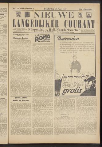 Nieuwe Langedijker Courant 1927-06-16