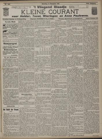Vliegend blaadje : nieuws- en advertentiebode voor Den Helder 1909-12-18