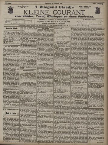 Vliegend blaadje : nieuws- en advertentiebode voor Den Helder 1907-10-26