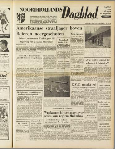 Noordhollands Dagblad : dagblad voor Alkmaar en omgeving 1953-03-11