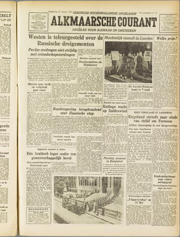 Alkmaarsche Courant 1955-01-27