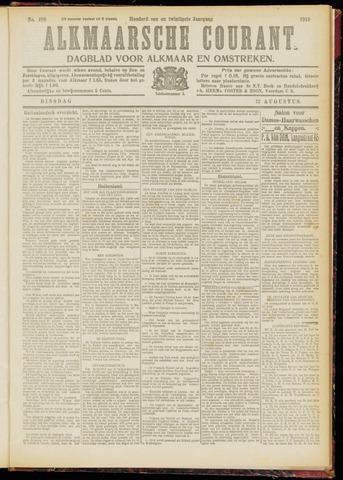 Alkmaarsche Courant 1919-08-12