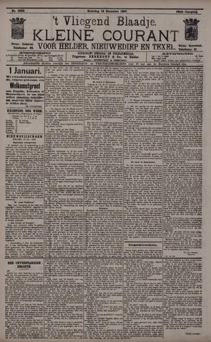 Vliegend blaadje : nieuws- en advertentiebode voor Den Helder 1895-12-14