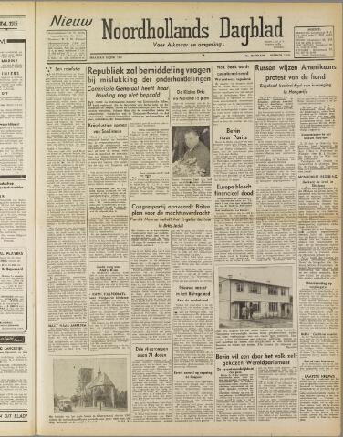 Nieuw Noordhollandsch Dagblad : voor Alkmaar en omgeving 1947-06-16
