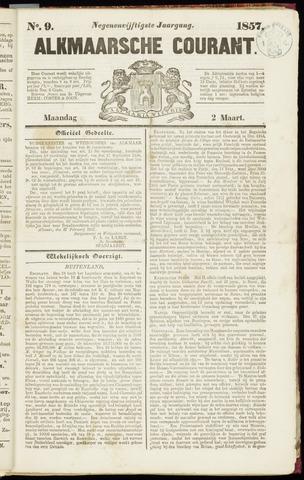 Alkmaarsche Courant 1857-03-02